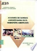 Acciones de Sanidad Agropecuaria en el Hemisferio Americano