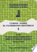 Actas de los XII Cursos Monográficos sobre el Patrimonio Histórico