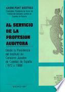 Al servicio de la profesión auditora