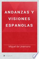 Andanzas y visiones espanolas
