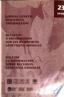Animal Genetic Resources Information