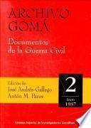 Archivo Gomá: Enero de 1937