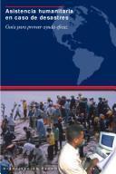 Asistencia humanitaria en caso de desastres