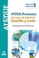 Ats/due Servicio de Salud de Castilla Y Leon. Temario Volumen V Ebook