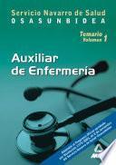 Auxiliares de Enfermeria Del Servicio Navarro de Salud-osasunbidea. Temario Volumen i Ebook