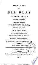 Aventuras de Gil Blas de Santillana0