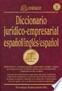Bilingual dictionary of legal and business terms