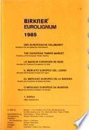 Birkner Eurolignum 1985
