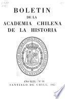 Boletín de la Academia Chilena de la Historia