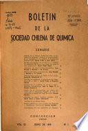Boletín de la Sociedad Chilena de Química
