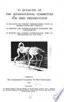 Bulletin of the International Committee for Bird Preservation
