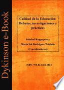 Calidad de la Educación: Debates, investigaciones y prácticas.