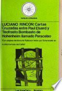 Cartas cruzadas entre Paul Eluard y Teofrasto Bombasto de Hohenheim llamado Paracelso