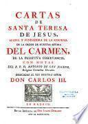 Cartas de Santa Teresa de Jesus...