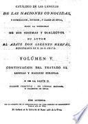 Catálogo de las lenguas de las naciones conocidas