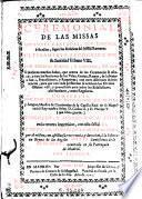 Ceremonial de las missas solemnes cantadas con diaconos o sin ellos segun las rubricas del Missal romano