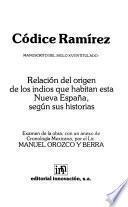 Códice Ramírez