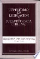 Código civil y leyes complementarias