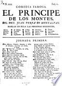 Comedia Famosa. El Principe De Los Montes