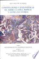 Constituciones y leyes políticas de América Latina, Filipinas y Guinea Ecuatorial. Tomo II, Los regímenes de seguridad nacional. Volumen I, Chile, Uruguay