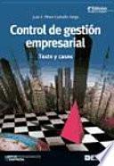 Control de gestión empresarial