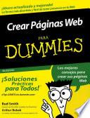 Crear Pginas Web Para Dummies