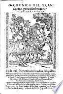 Cronica del gran capitan gonç. alo fernandez De Cordova y Agvilar