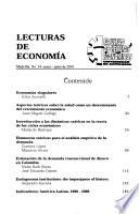Cuadernos de economía