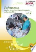 Cuerpo Técnico.escala Diplomados de Salud Publica.opcion Enfermeria de la Administracion Regional de Murcia. Temario Especifico Volumen I.e-book.