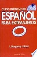 Curso intensivo de español para extranjeros