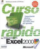 Curso Rapido De Microsoft Excel 2000