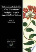 De los descubrimientos a las taxonomías