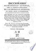 Diccionario numismatico general, 1