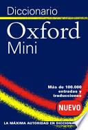 Diccionario Oxford Mini