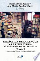 Didactica de la Lengua y la Literatura, tomo I