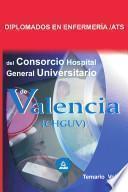 Diplomado en Enfermeria/ats Del Consorcio Hospital General Universitario de Valencia. Temario Volumen Ii Ebook