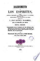 Discernimiento de los espiritus para gobernar rectamente las acciones propias y las de otros