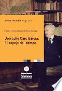 Don Julio Caro Baroja