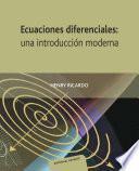 Ecuaciones direfenciales