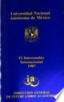 El intercambio internacional 1987