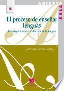 El proceso de enseñar lenguas
