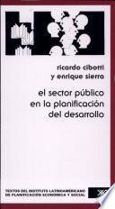 El sector público en la planificación del desarrollo