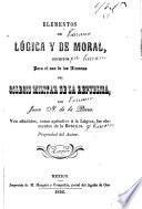 Elementos de lógica y de moral