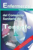 Enfermeros Del Consorcio Sanitario de Tenerife. Temario Volumen I. Ebook