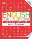 English for Everyone: Nivel 1 Inicial, Libro de Ejercicios
