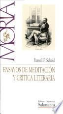 Ensayos de meditación y crítica literaria