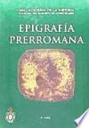 Epigrafía prerromana