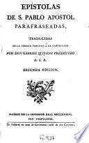 Epistolas de S. Pablo Apóstol parafraseadas