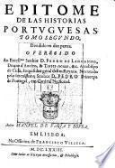 Epitome de las historias portuguesas