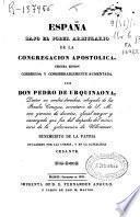 España bajo el poder arbitrario de la Congregación Apostólica